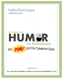 Using humor and comedy