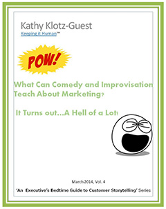 marketing lessons from comedy and improv