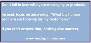 The Big Marketing Question