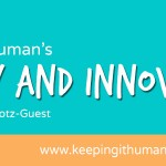 Keeping it Human's Improv and Innovation Cafe': improv and content marketing. Storytelling for presentations