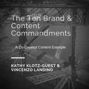 Ten Brand Commandments