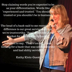 Stop Claiming Words You're Expected to Be