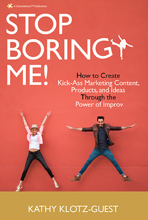"Warren Whitlock Chat with Kathy Klotz-Guest, author, ""Stop Boring Me!"""