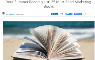 LinkedIn Summer 2017 Reading List