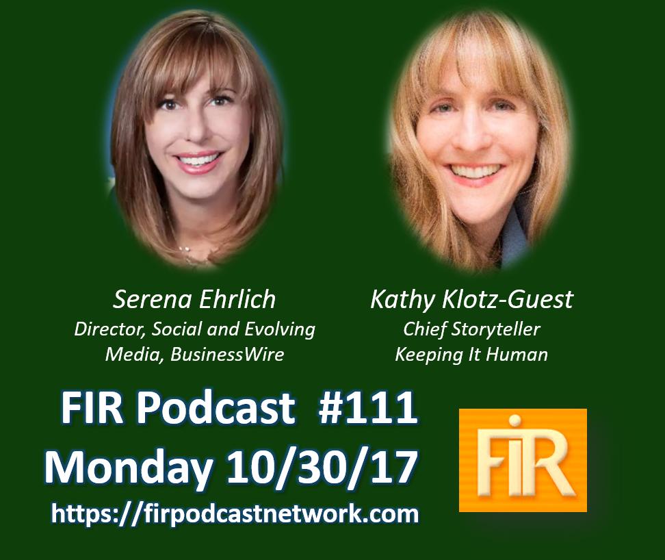 FIR Podcast Guest