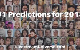 Livestreaming video predictions